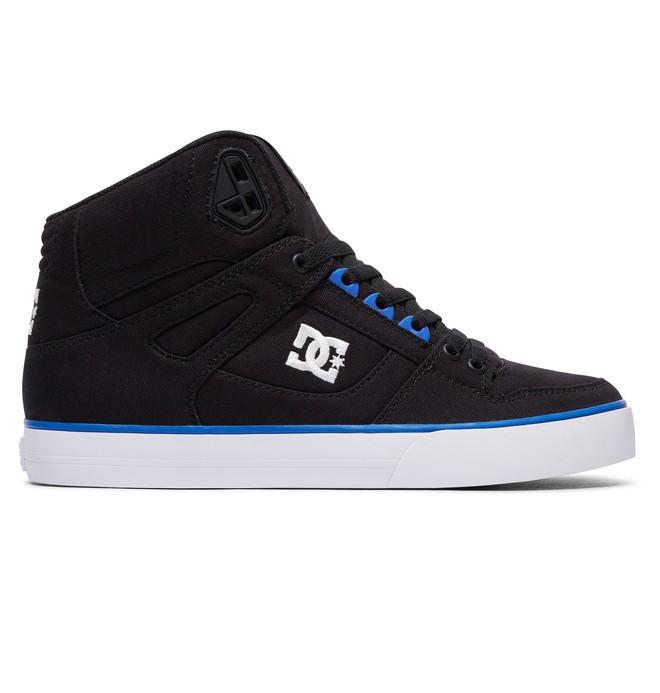 0 Men's Spartan High WC TX High-Top Shoes Black 303435 DC Shoes