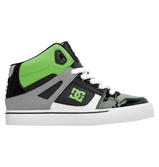 0 Kid's 4-7 Spartan High-Top Shoes  303499A DC Shoes