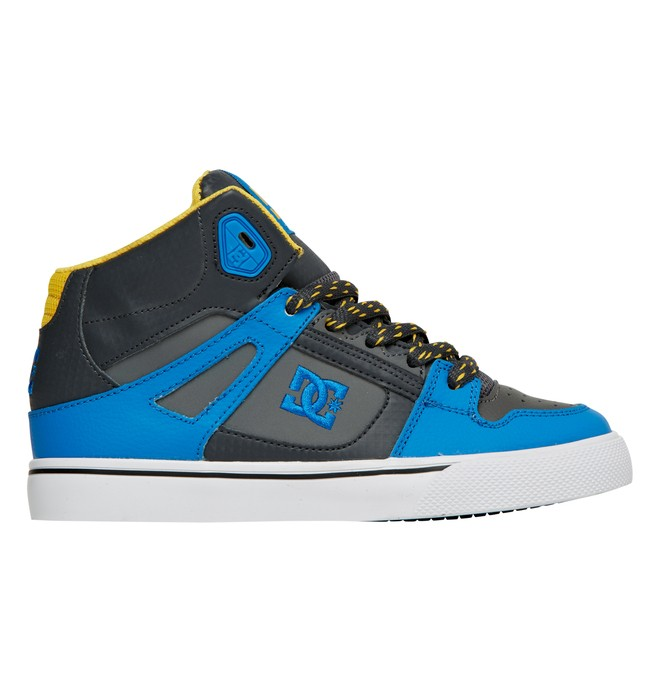 0 Boy's 8-16 Spartan High-Top Shoes Blue 303499B DC Shoes