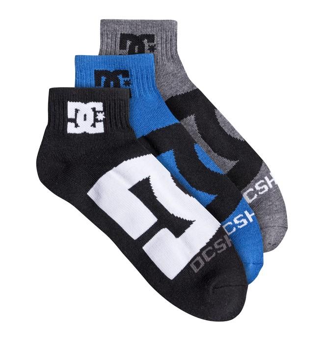 0 DC Logo Quarter Socks  30621F DC Shoes