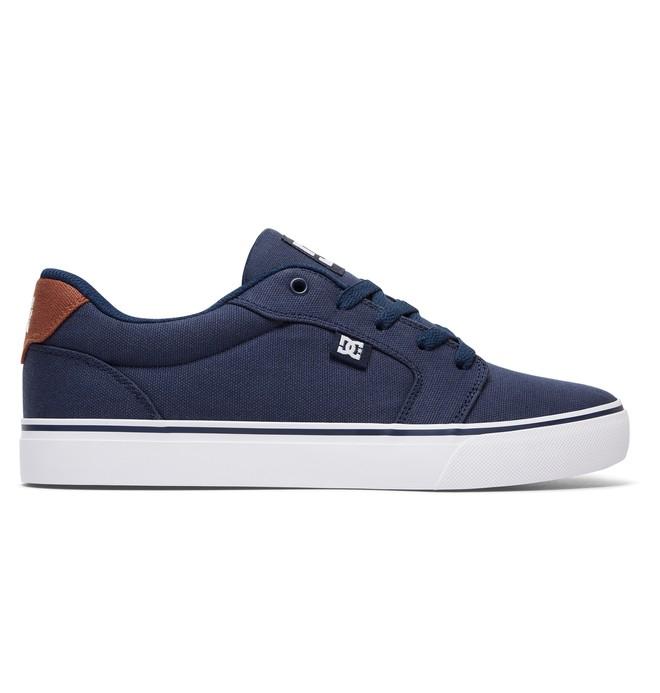 0 Men's Anvil TX Shoes Blue 320040 DC Shoes