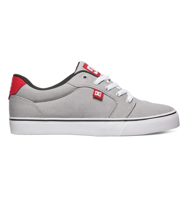 0 Men's Anvil TX Shoes Grey 320040 DC Shoes
