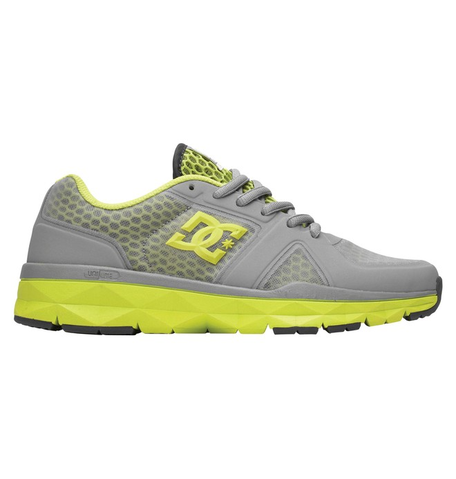 0 Women's Unilite Trainer Shoes Grey 320054 DC Shoes
