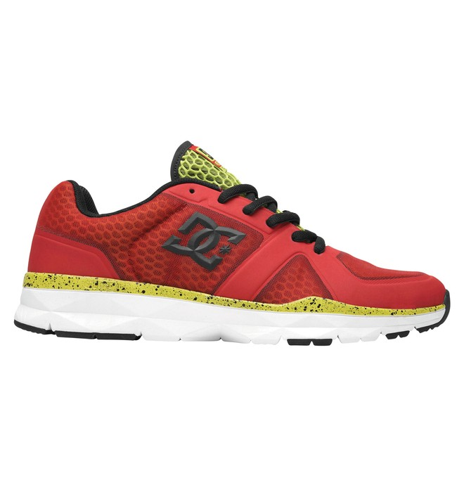 0 Men's Unilite Trainer Shoes Red 320057 DC Shoes
