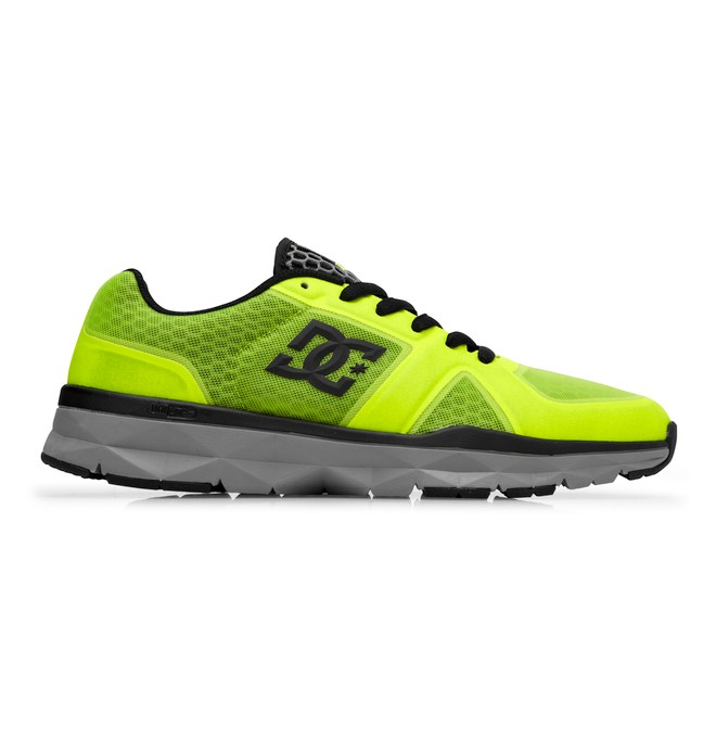 0 Men's Unilite Trainer Shoes Yellow 320057 DC Shoes