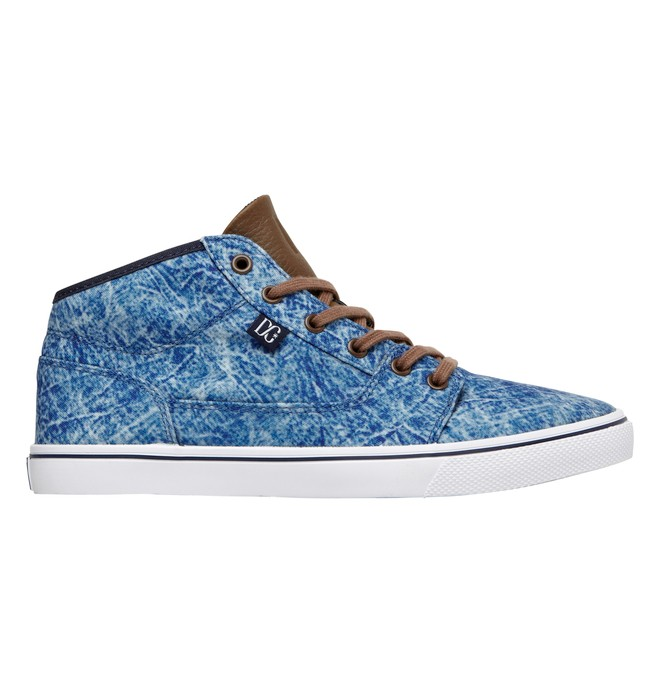 0 Women's Bristol Mid LE Shoes Blue 320061 DC Shoes
