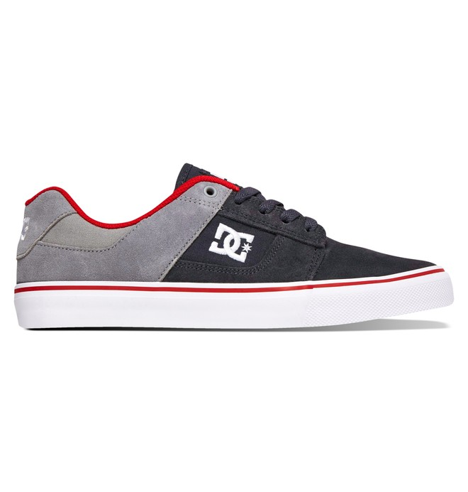 0 Men's Bridge Shoes Grey 320096 DC Shoes
