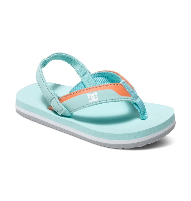 0 Boy's 4-7 Grommet Sandals Blue 320143 DC Shoes