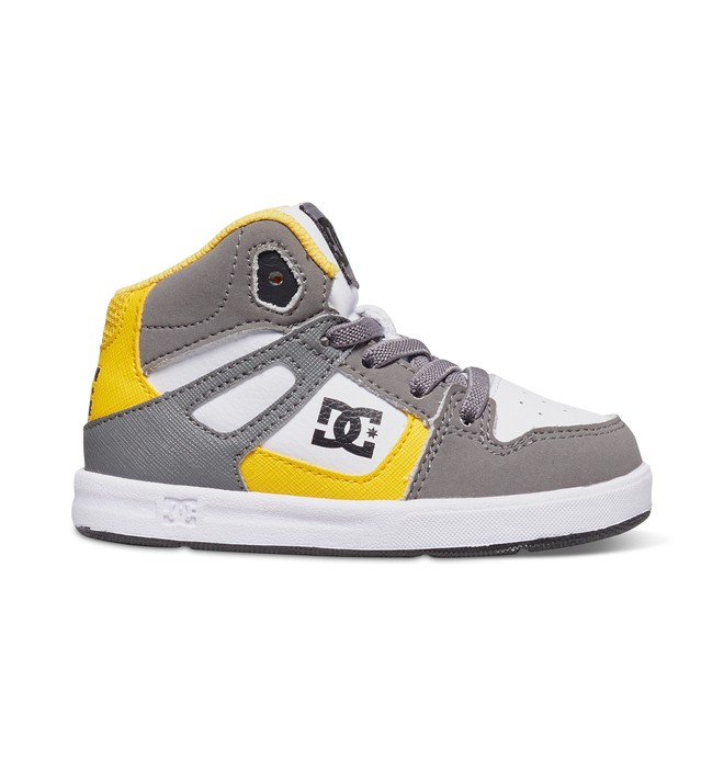 0 Toddler's Rebound UL High-Top Shoes White 320167 DC Shoes