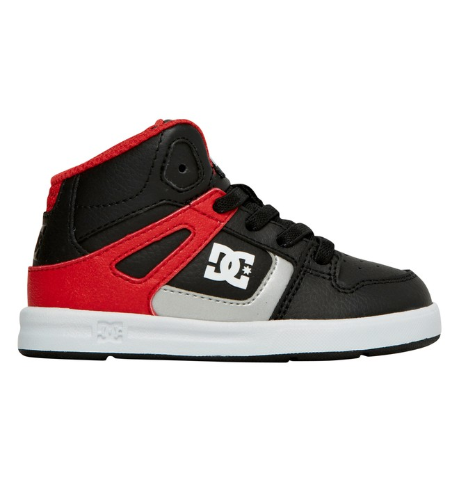 0 Toddler's Rebound UL High-Top Shoes Black 320167 DC Shoes