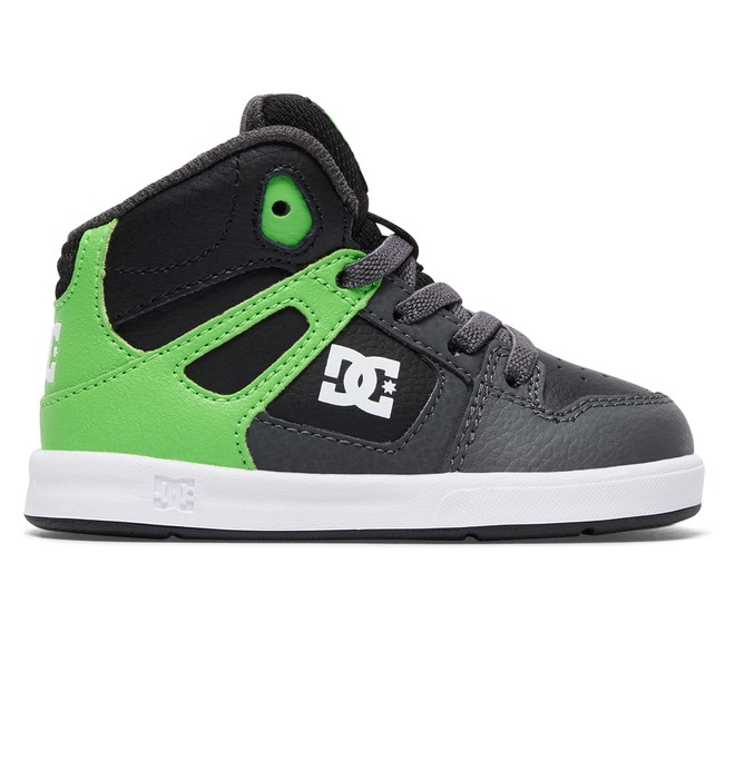0 Rebound Ul - High-Top Shoes Green 320167 DC Shoes