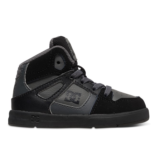 0 Toddler's Rebound UL High-Top Shoes Grey 320167 DC Shoes