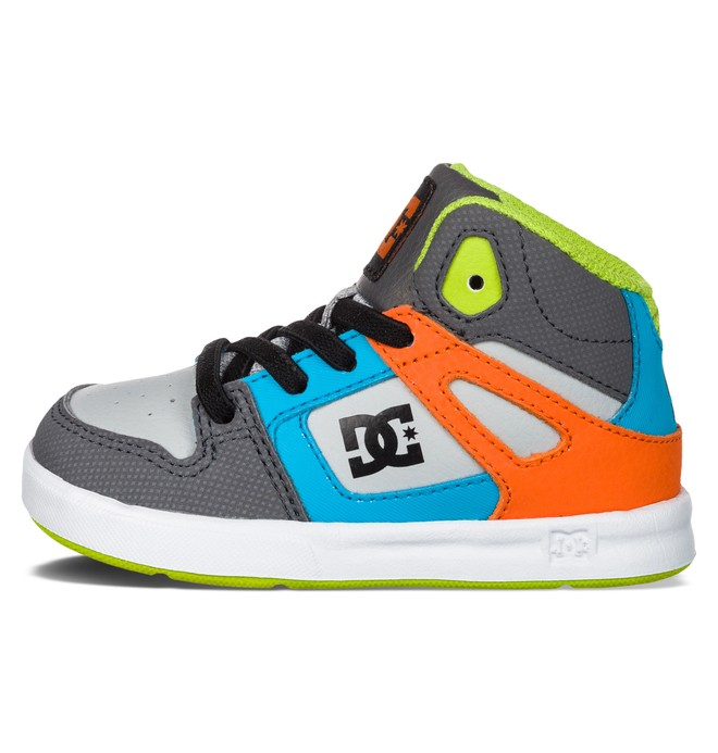 0 Toddler's Rebound UL High-Top Shoes Multicolor 320167 DC Shoes
