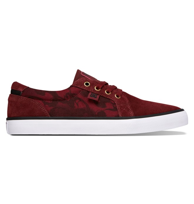 0 Men's Council S Shoes Red 320174 DC Shoes