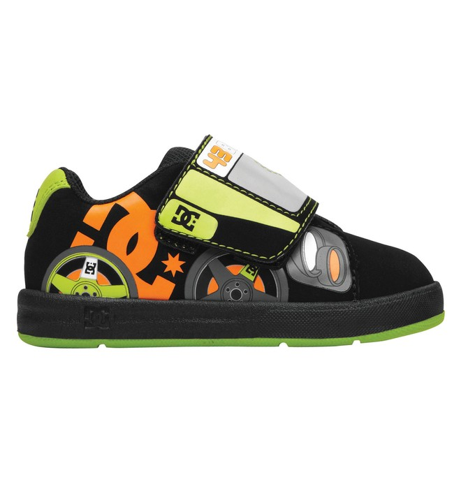 0 Toddler's Ken Block Rally UL Shoes Black 320179 DC Shoes