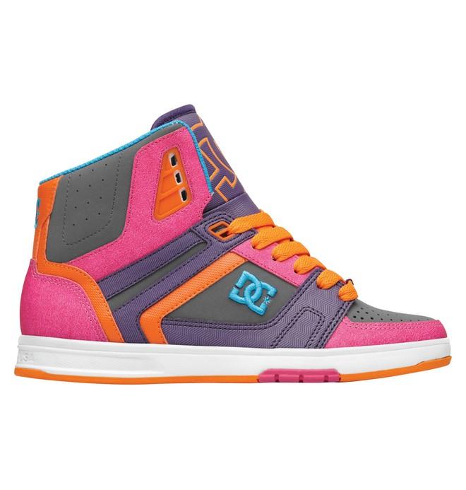 0 Women's Stance HI Shoes Grey 320182 DC Shoes