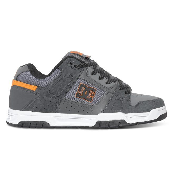 0 Men's Stag Shoes Grey 320188 DC Shoes
