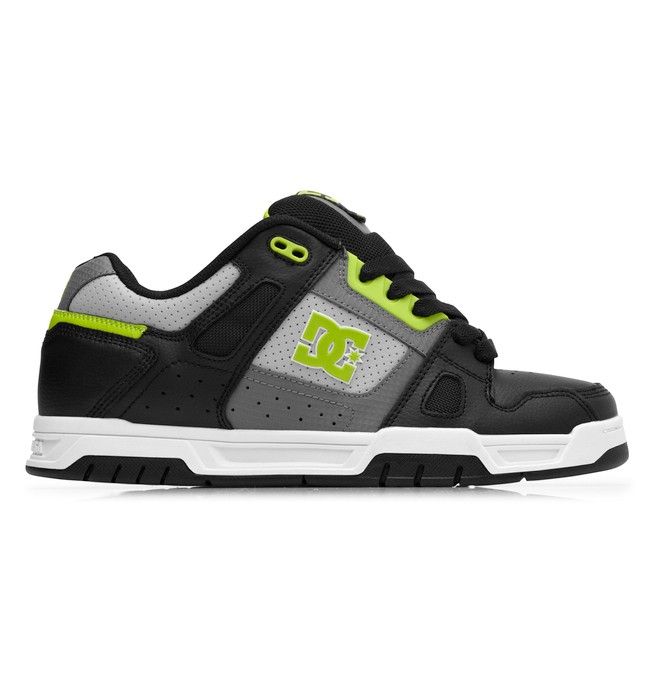 0 Men's Stag Shoes Green 320188 DC Shoes