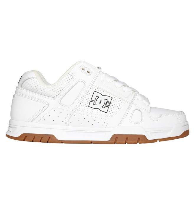 0 Men's Stag Shoes White 320188 DC Shoes