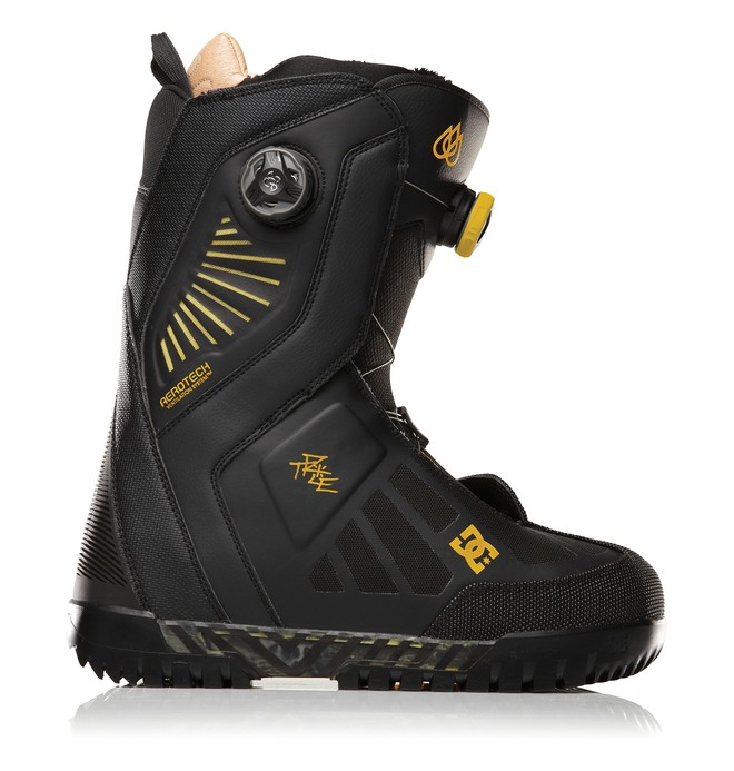 0 Men's Travis Rice Snowboard Boots Black 320191 DC Shoes