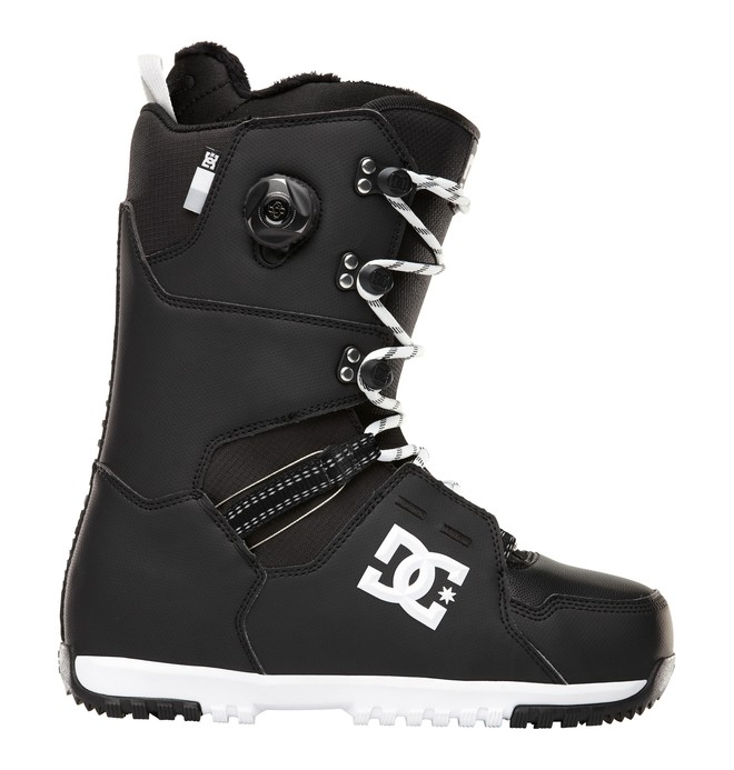0 Men's Kush Snowboard Boots Black 320213 DC Shoes