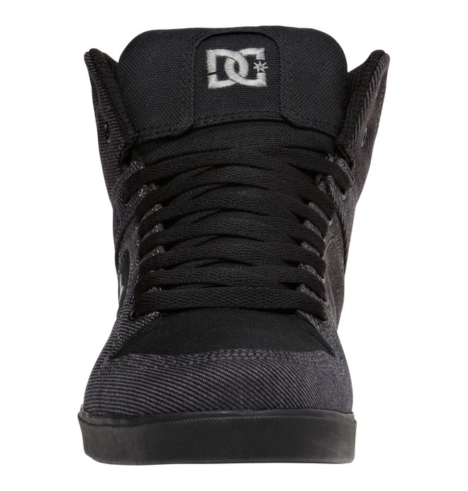0 Men's Union Hi TX Shoes Black 320264 DC Shoes