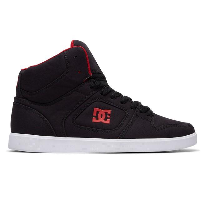 0 Men's Union Hi TX Shoes Black 320264 DC Shoes