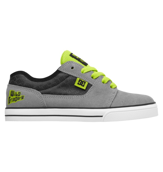0 Kid's Bristol Wild Grinders Shoes  320290A DC Shoes