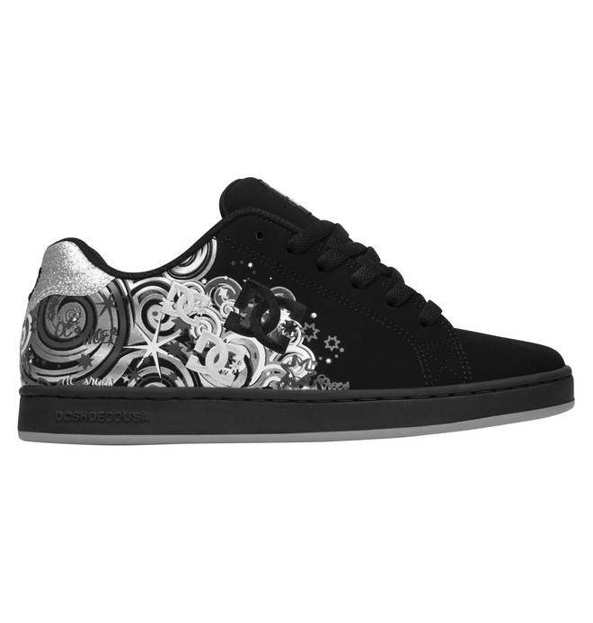0 Women's Pixie Dizzy Script Shoes  320294 DC Shoes