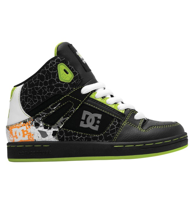0 Kids Ken Block Rebound Shoes Black 320300A DC Shoes