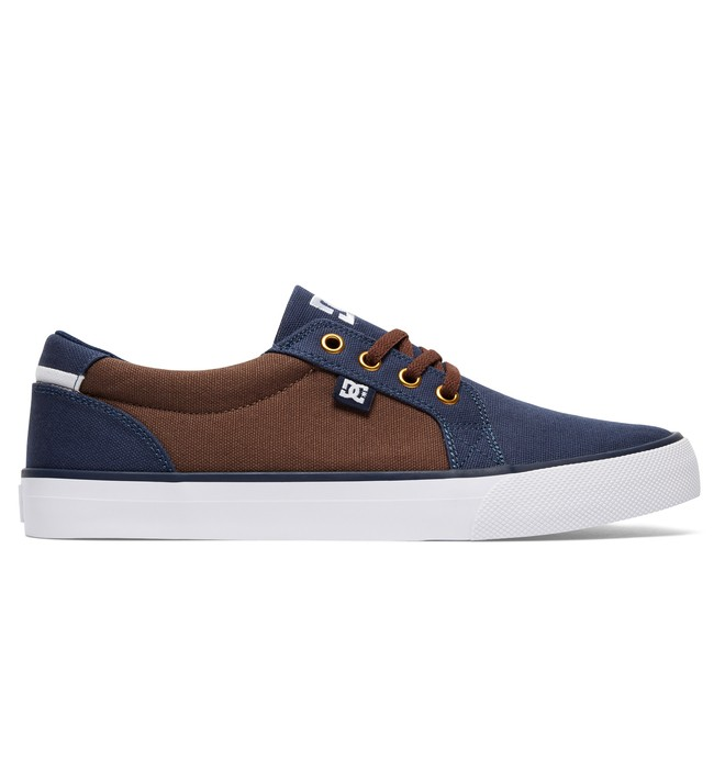 0 Men's Council TX Shoes Blue 320305 DC Shoes