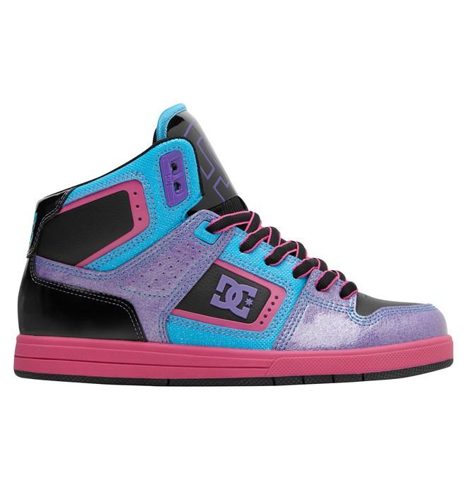 0 Women's Destroyer HI Shoes Black 320306 DC Shoes
