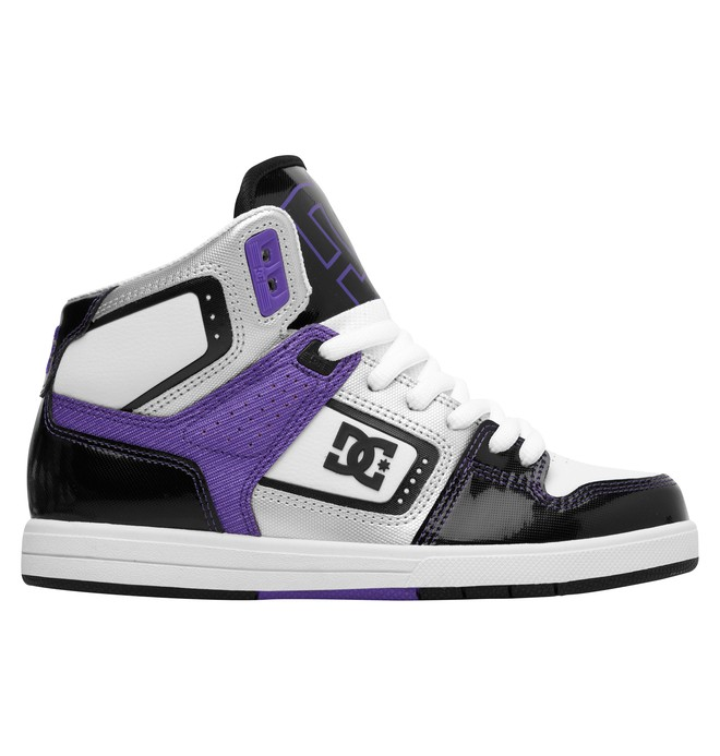 0 Women's Destroyer HI Shoes Black 320306 DC Shoes