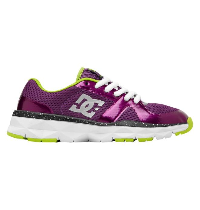 0 Kid's Unilite Trainer Shoes Purple 320342A DC Shoes