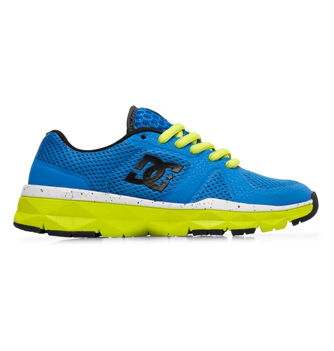 0 Kid's Unilite Trainer Shoes Yellow 320342A DC Shoes