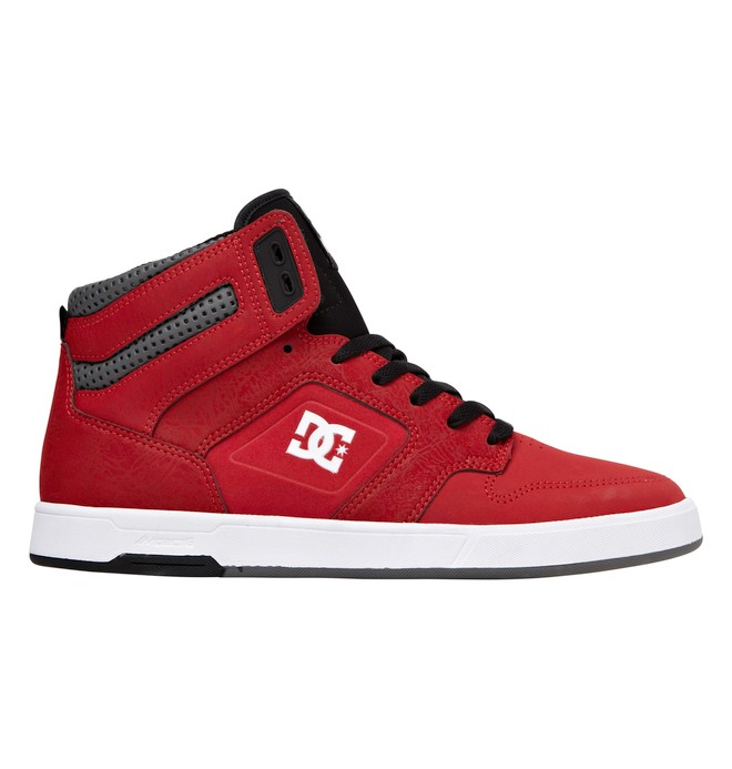 0 Men's Nyjah High Top Shoes Red 320361 DC Shoes