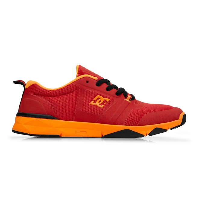 0 Men's Unilite Flex Trainer Shoes Red 320392 DC Shoes