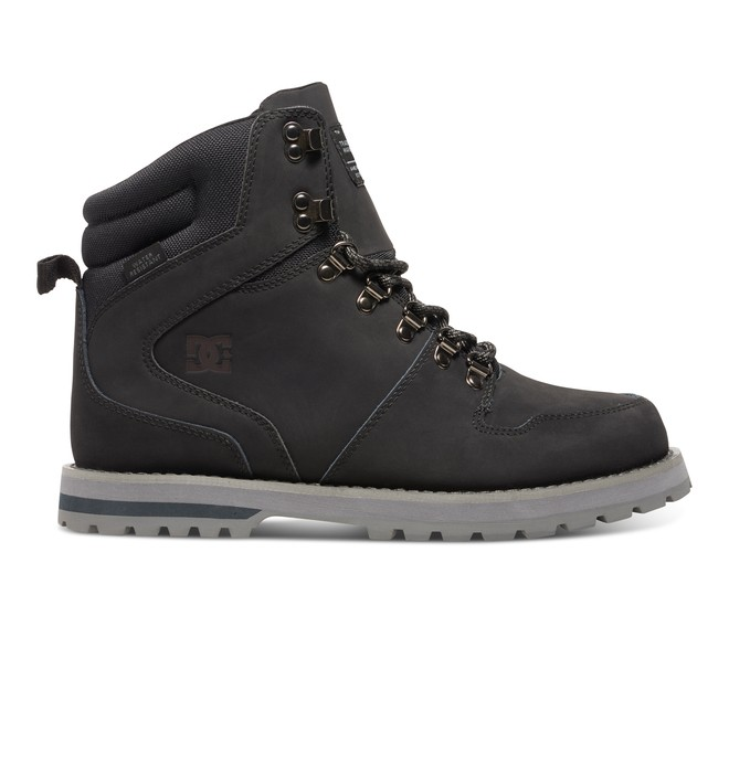 0 Men's Peary Winter Boots Grey 320395 DC Shoes