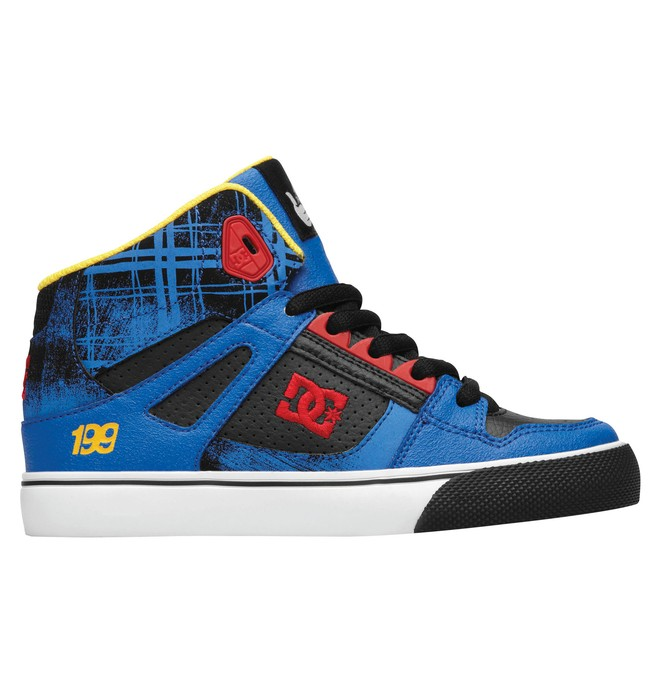 0 Boy's Travis Pastrana Spartan High Shoes  320398B DC Shoes