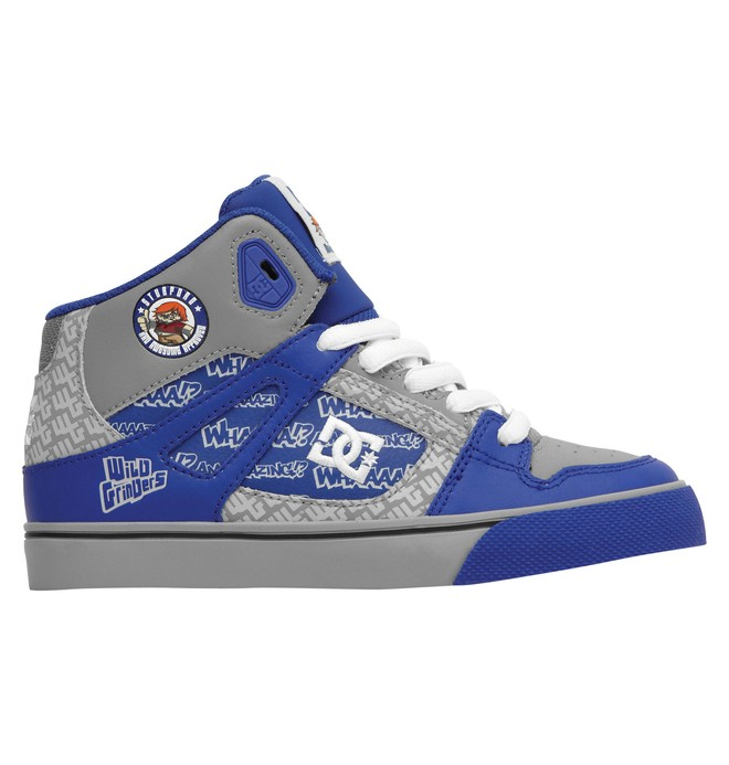 0 Boy's Wild Grinders Spartan High Shoes  320399B DC Shoes