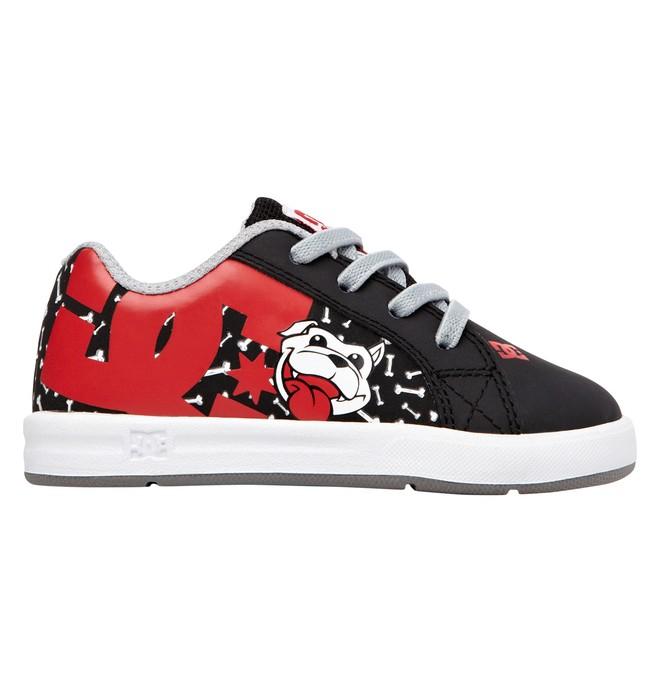 0 Kid's Wild Grinders Court Graffik Elastic UL  320400 DC Shoes