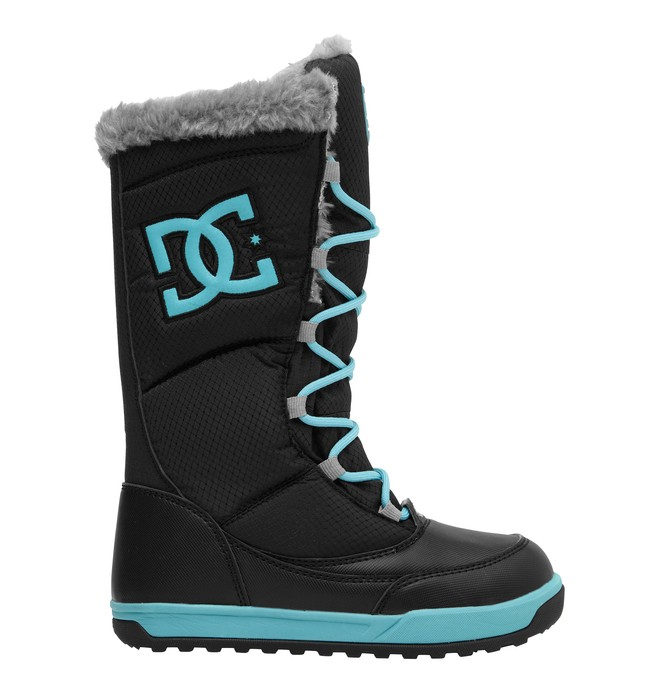 0 Girl's Allie Boots Black 320403B DC Shoes