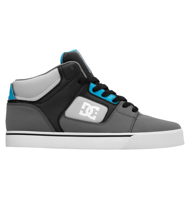 0 Men's Rob Dyrdek Alumni MID Shoes Grey 320406 DC Shoes