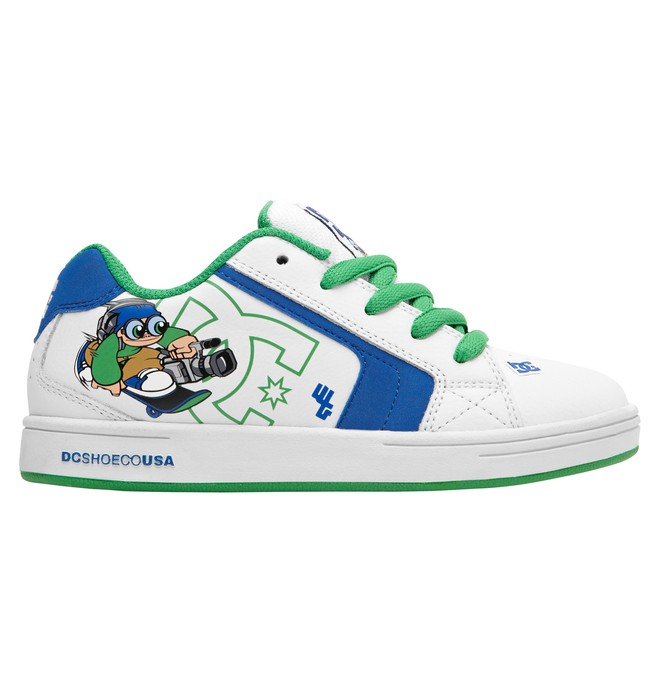 0 Kid's Wild Grinders Net Shoes Blue 320411A DC Shoes