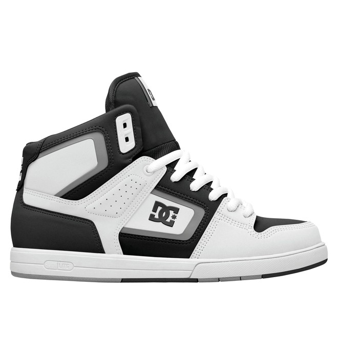 0 Men's Rob Dyrdek Factory Lite HI Shoes Black 320412 DC Shoes