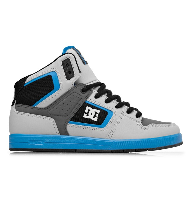 0 Men's Rob Dyrdek Factory Lite HI Shoes Grey 320412 DC Shoes