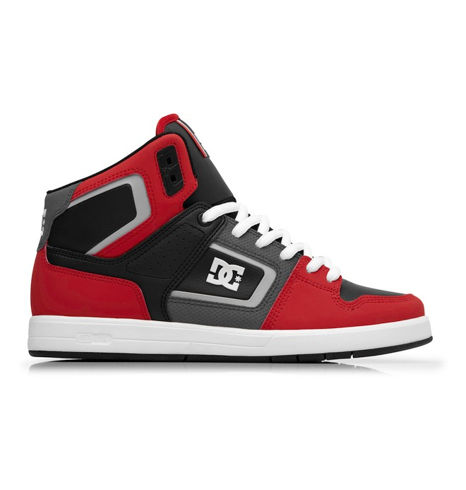 0 Men's Rob Dyrdek Factory Lite HI Shoes Red 320412 DC Shoes