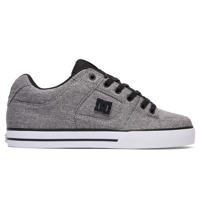 0 Men's Pure TX SE Shoes Grey 320423 DC Shoes