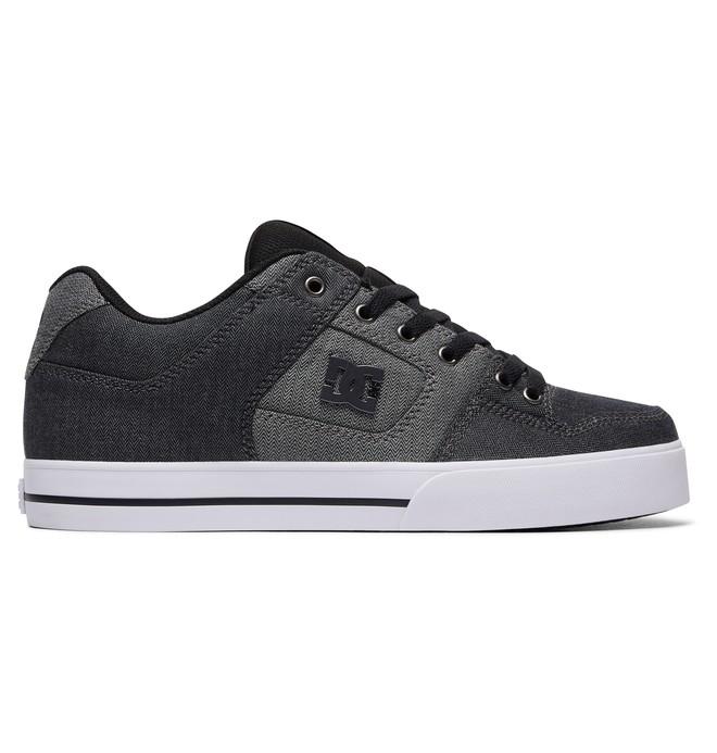 0 Men's Pure TX SE Shoes Black 320423 DC Shoes