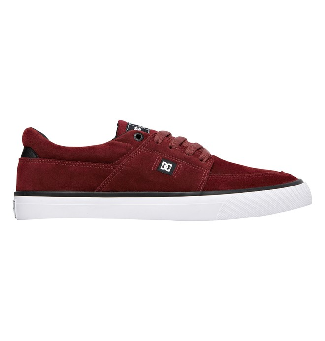 0 Men's Wes Kremer S Low Top Shoes Red 320425 DC Shoes